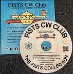 Small photograph of FISTS Collection disc from FISTS CW Club EUROPE.